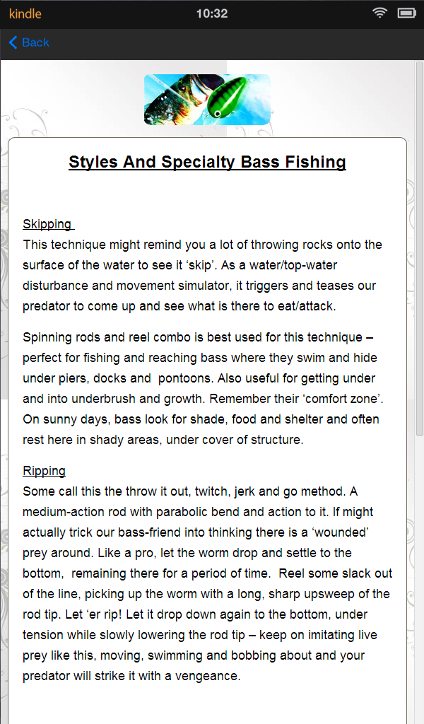 Bass Fishing Tips - FREE: Amazon.es: Appstore para Android