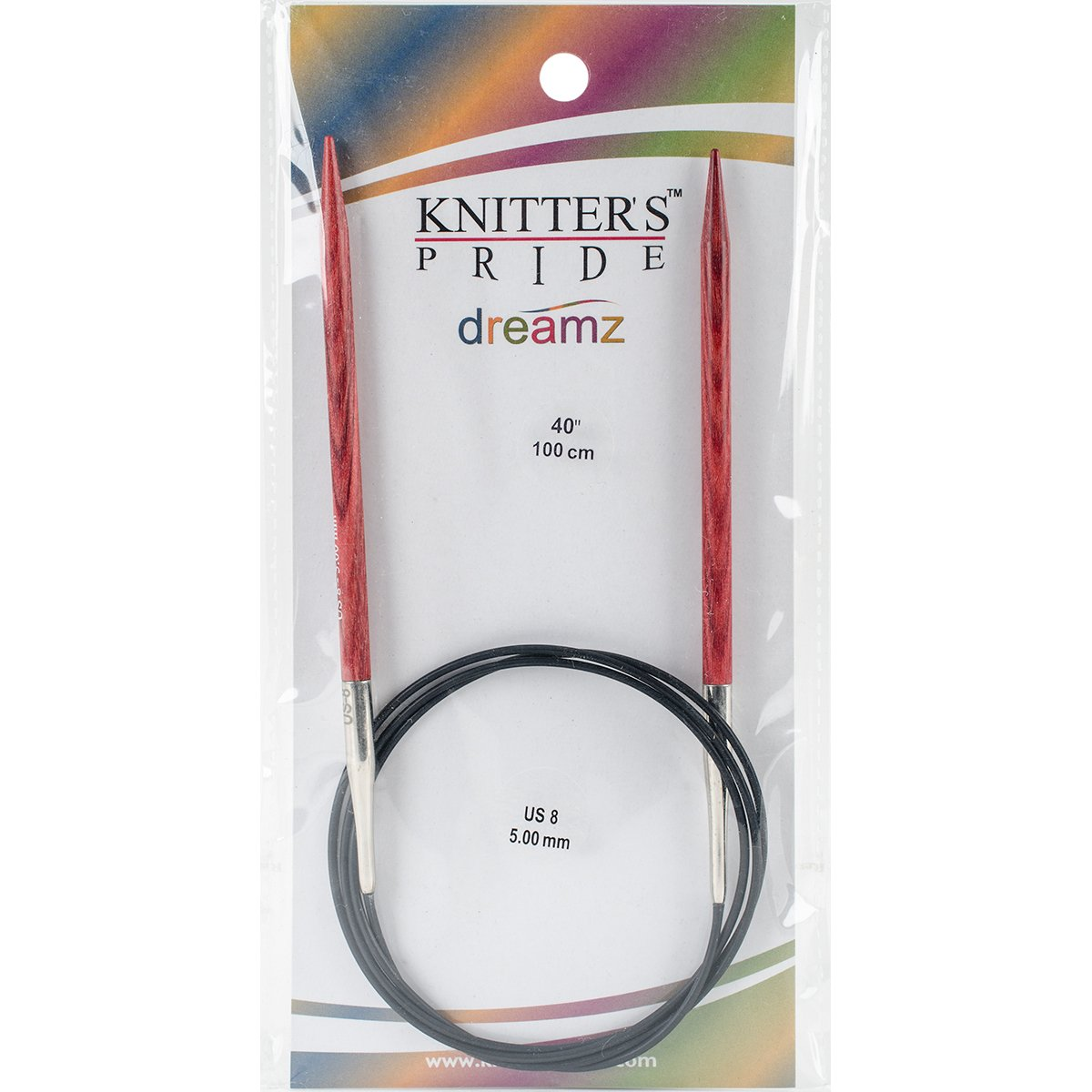 Knitters Pride 15//10mm Dreamz Fixed Circular Needles 40