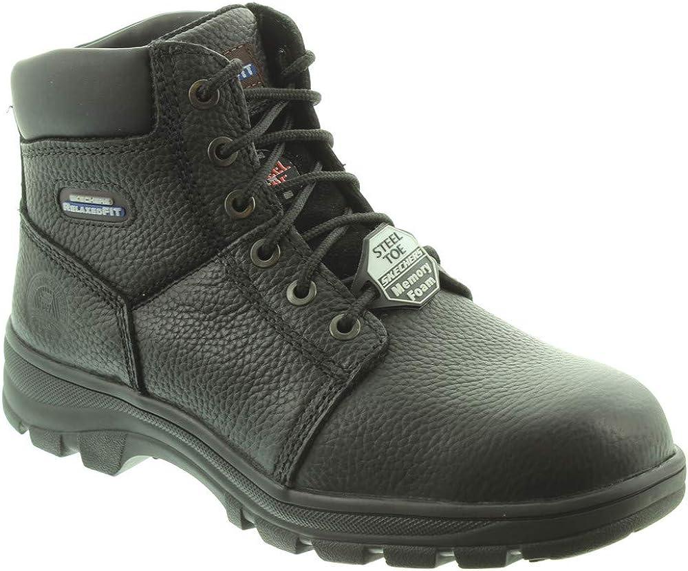 Skechers - Mens 77009EC Steel Toe Cap
