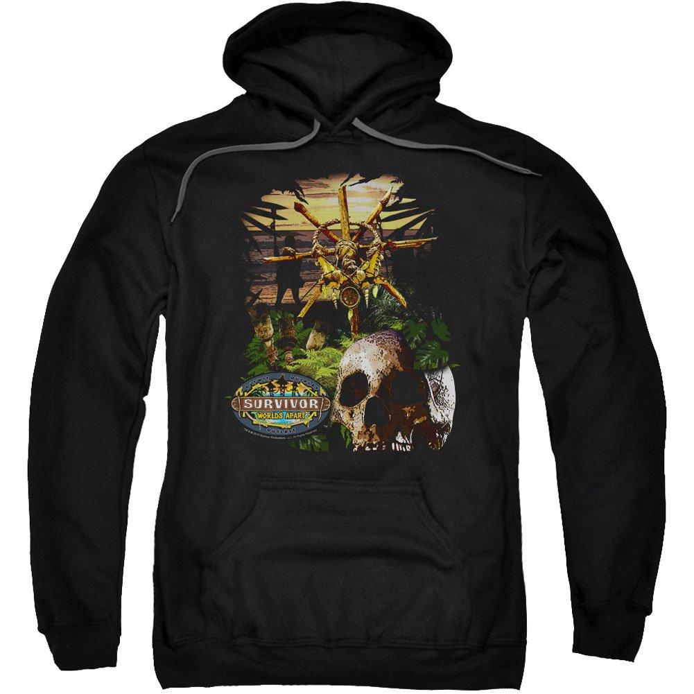 Trevco Survivor-dschungel hoodie für Herren