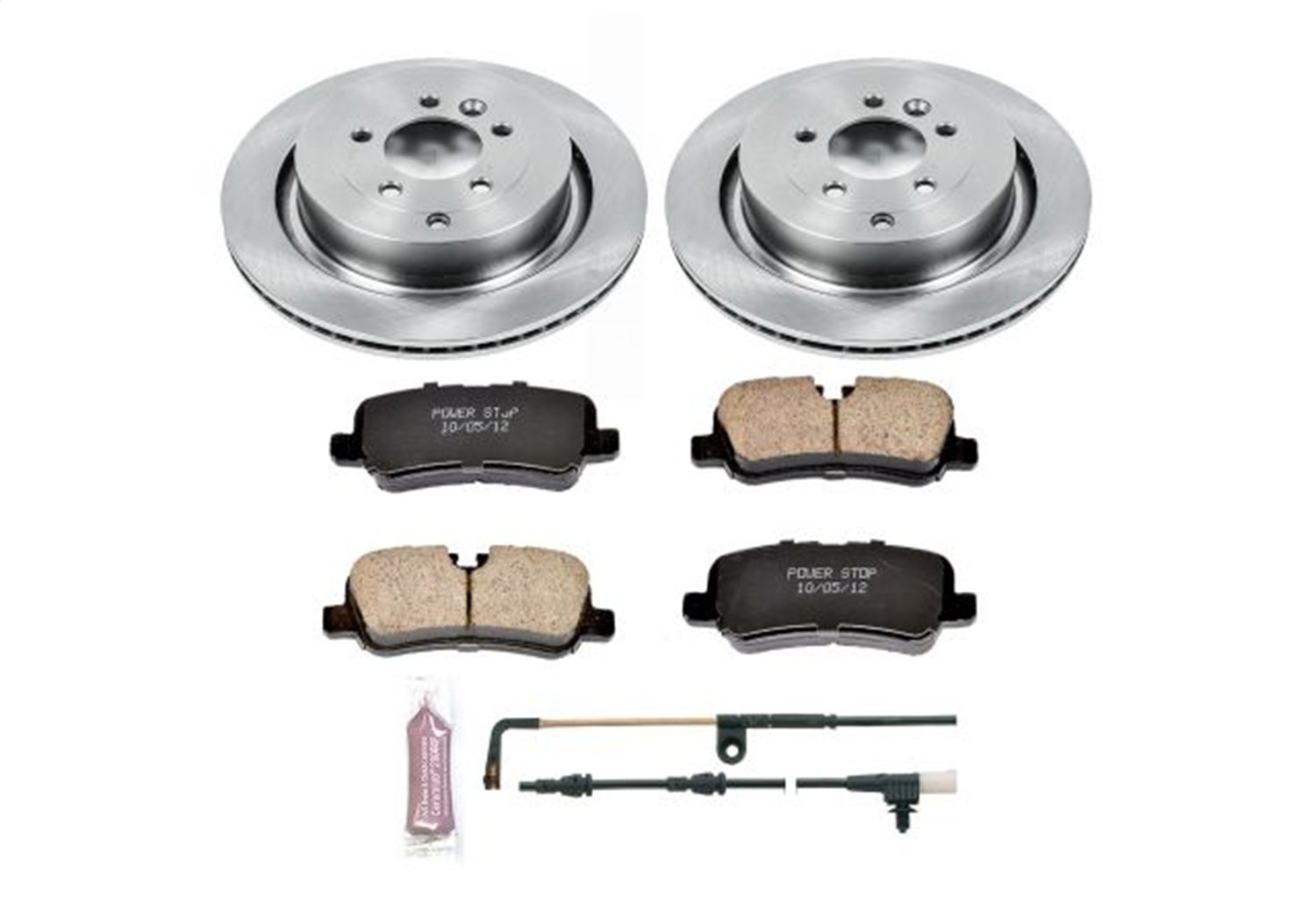 Autospecialty KOE6564 Daily Driver 1-Click OE Replacement Rear Brake Kit