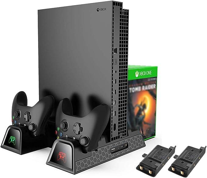 Xbox One Soporte Vertical y Ventilador de Refrigeración, estación ...