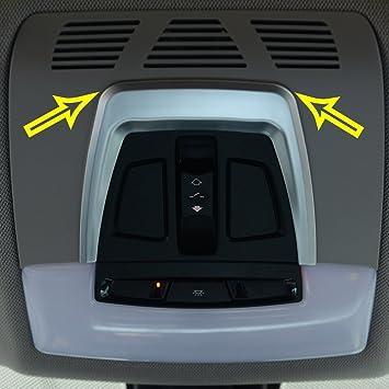 ABS cromado cubierta de interruptor de control de luz techo solar panel embellecedor de marco de