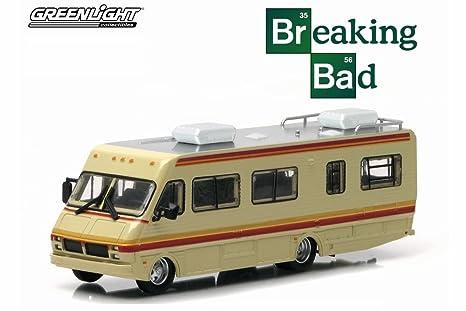Amazon Greenlight Breaking Bad 1986 Fleetwood Bounder RV Tan