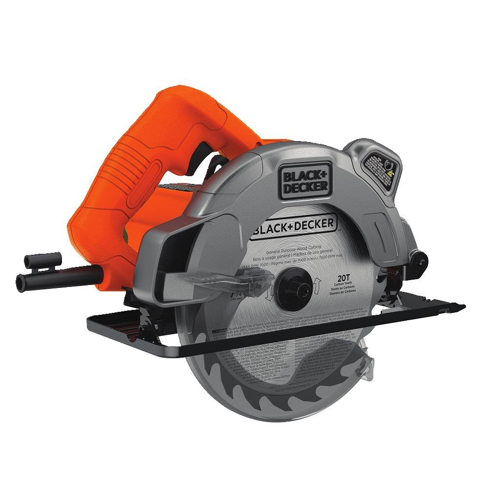 "Black+Decker BDECS300C 7-1/4"" 13A Circular Saw"