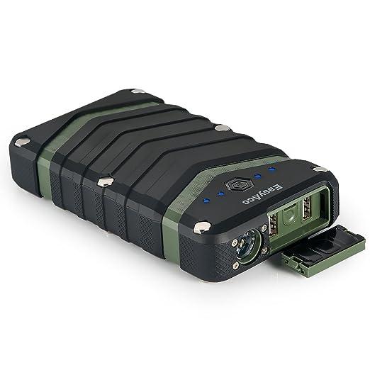 44 opinioni per EasyAcc 20000mAh Rugged Caricabatteria con IP67 Waterproof, Antipolvere,