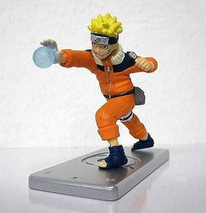 Naruto Figure w/ Hidden Leaf Display Base-Naruto Rasengan ...