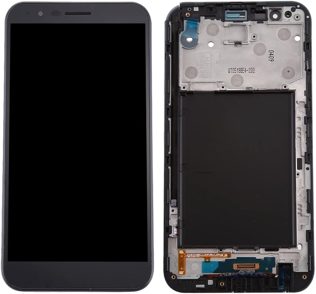 TP450 Color : Black Black MP450 SMT AYSMG LCD Screen and Digitizer Full Assembly for LG Stylo 3 Plus
