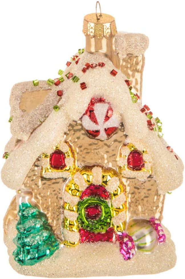 Amazon Com Robert Stanley Gingerbread House Glass Christmas