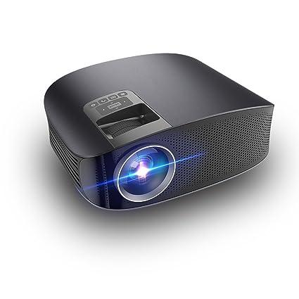 Proyector LED, Apoyo 1080 HD 3600 Lumen Síncrono Pantalla De Vídeo Multi-Pantalla De