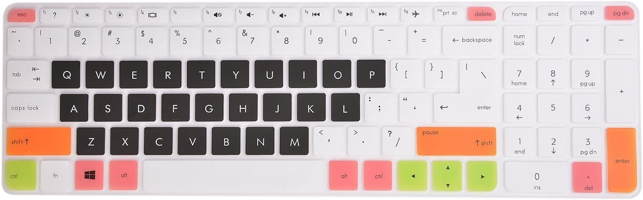 Leze - Ultra Thin Laptop Keyboard Cover for 17.3