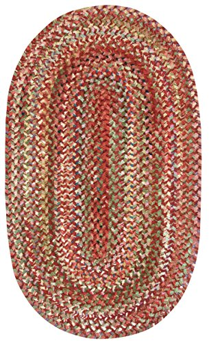 Capel Rugs Ocracoke Oval Braided Area Rug, 27