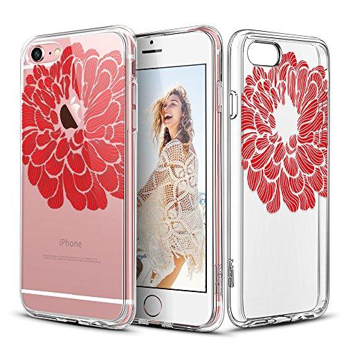 iPhone ESR Mandala Pattern Scarlet
