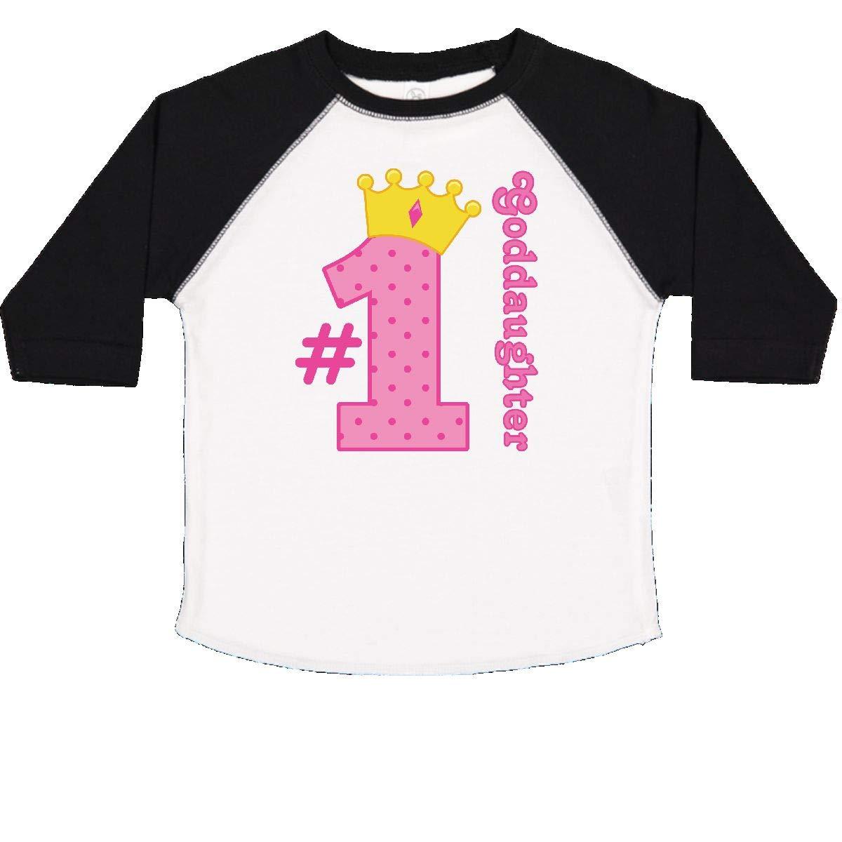 inktastic Number 1 Goddaughter Toddler T-Shirt