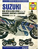 H2055 Haynes Suzuki GSX-R 750, GSX-R 1100 1985-1992 Katana 600 750 1100 1988-1996 Motorcycle Repair Manual