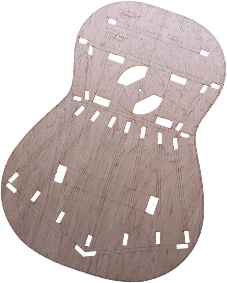B Baosity Plantillas De Diseño De Cuerpo De Guitarra Clásica Sólida Para Torres 1 (madera) Para Luthier, Guitarra De Construcción, Bricolaje, Fácil De Usar
