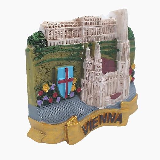 MUYU Magnet Imán para Nevera, diseño de Viena en 3D: Amazon.es: Hogar