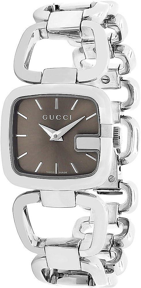 Gucci Relojes Serie 125de Las Mujeres Reloj (marrón)