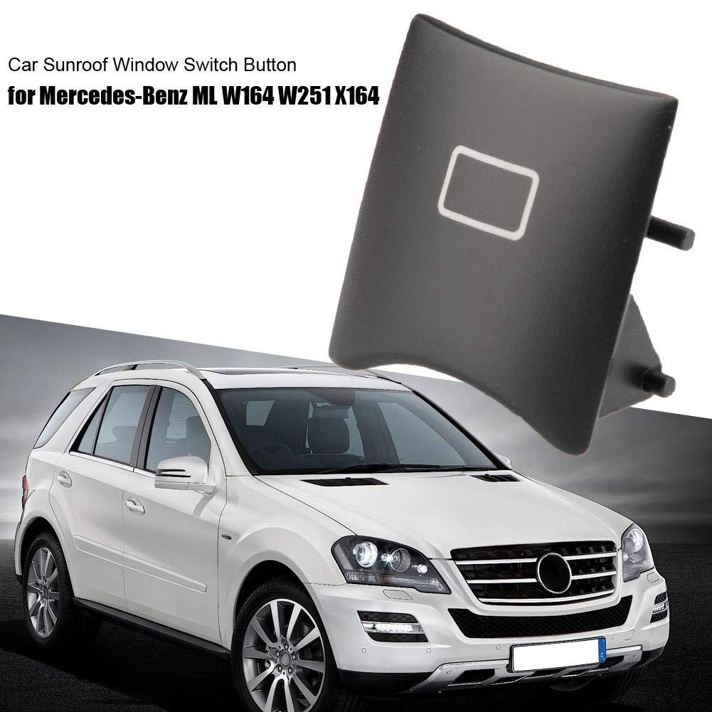 Schiebedach Knopf Beige Auto Schiebedach Fenster Schalter Knopf Abdeckung f/ür ML W164 W251 X164 16482071858K67