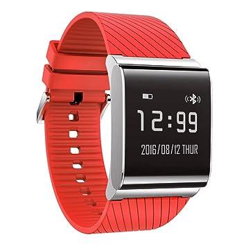 X9 Plus Smart pulsera reloj de pulsera Monitor de presión arterial oxígeno corazón Sports Tracker pulsera 0,95 en OLED SmartWatch para Android IOS, ...