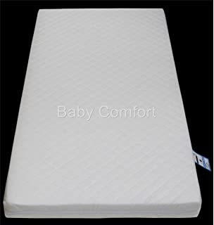 detailed look 3d68f 2d43a Baby Toddler Cot Bed Fully Breathable Foam Mattress ...