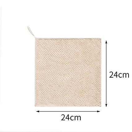 Toalla Toallas de mano colgantes, poliéster suave absorbente y toallas de de la decoración de nylon ...