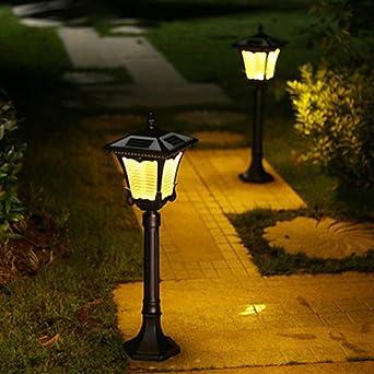 Luz LED solar para césped al aire libre, luz de jardín para jardín o villa, resistente al agua, luz de césped para decorar tu hogar: Amazon.es: Iluminación