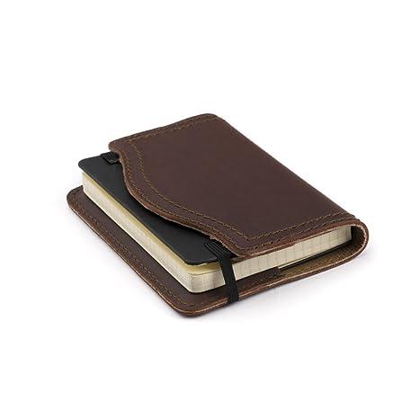 Amazon.com: Saddleback Leather Co. Moleskine - Funda de piel ...
