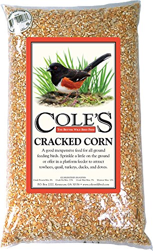 Cole's Wild Bird Products. Cole's CC10 Cracked Corn, 10-Pound