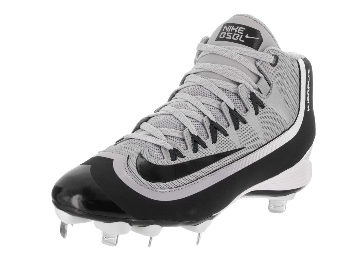NikeメンズHuarache 2 kfilth Pro Mid Baseball Cleat B00VKY5R3A 8.5 D(M) US|Wolf Grey/Black/Anthrct/White Wolf Grey/Black/Anthrct/White 8.5 D(M) US
