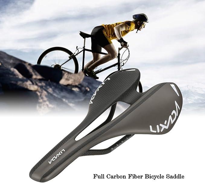 kashyk Carbon Bicycle Saddle Lightweight Hollow Ergonomic Bicycle Seat MTB Mountain Bike Saddle Mountain Bike Saddle Mountain Bike Saddle City Touring Saddle for Men and Women