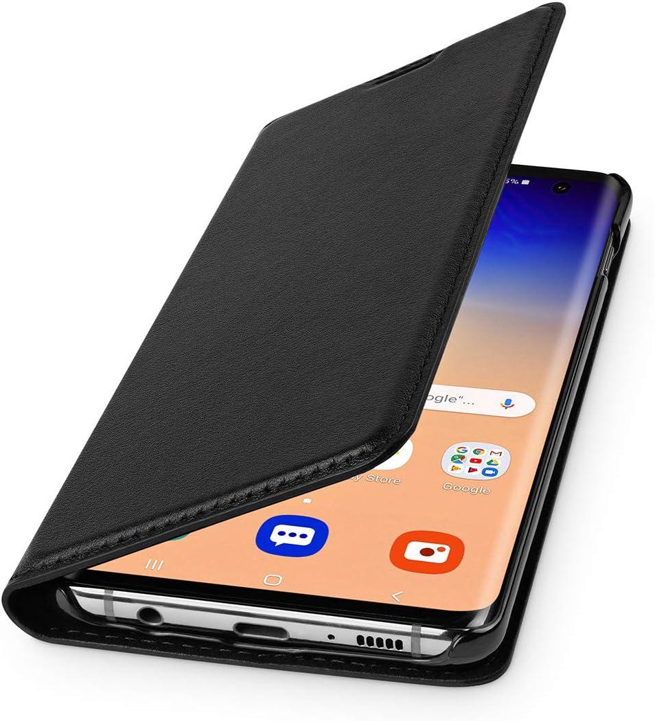 Wiiuka Echt Ledertasche Travel Hülle Für Samsung Galaxy S10