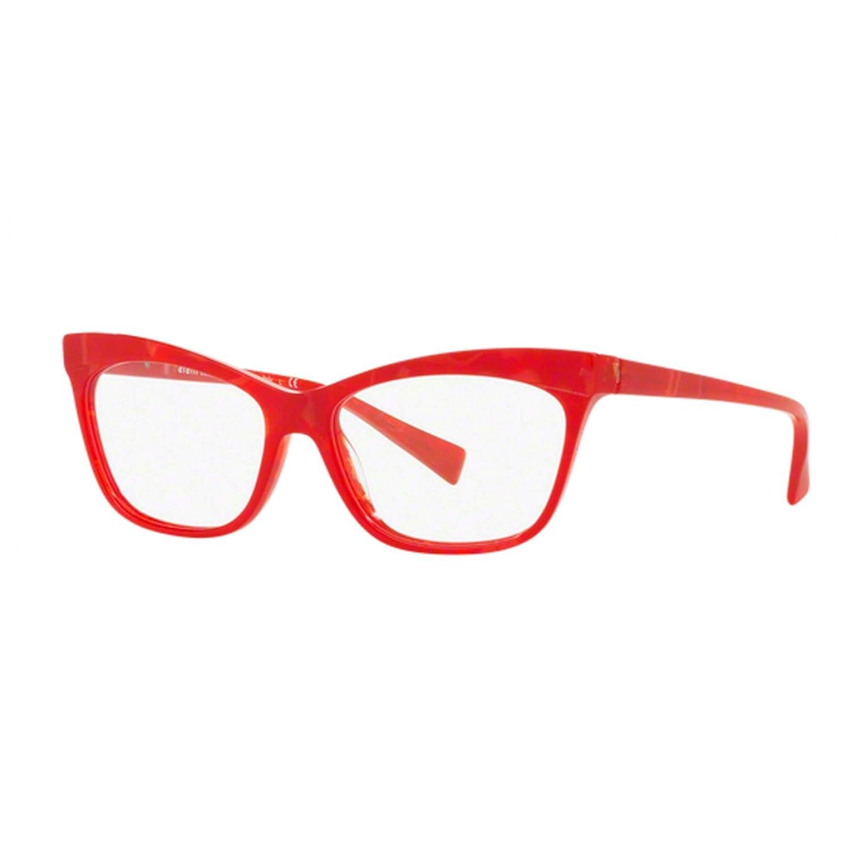 ALAIN MIKLI 0A03059 1055 OCCHIALE DA VISTA ROSSO RED EYEGLASSES SEHBRILLE DONNA