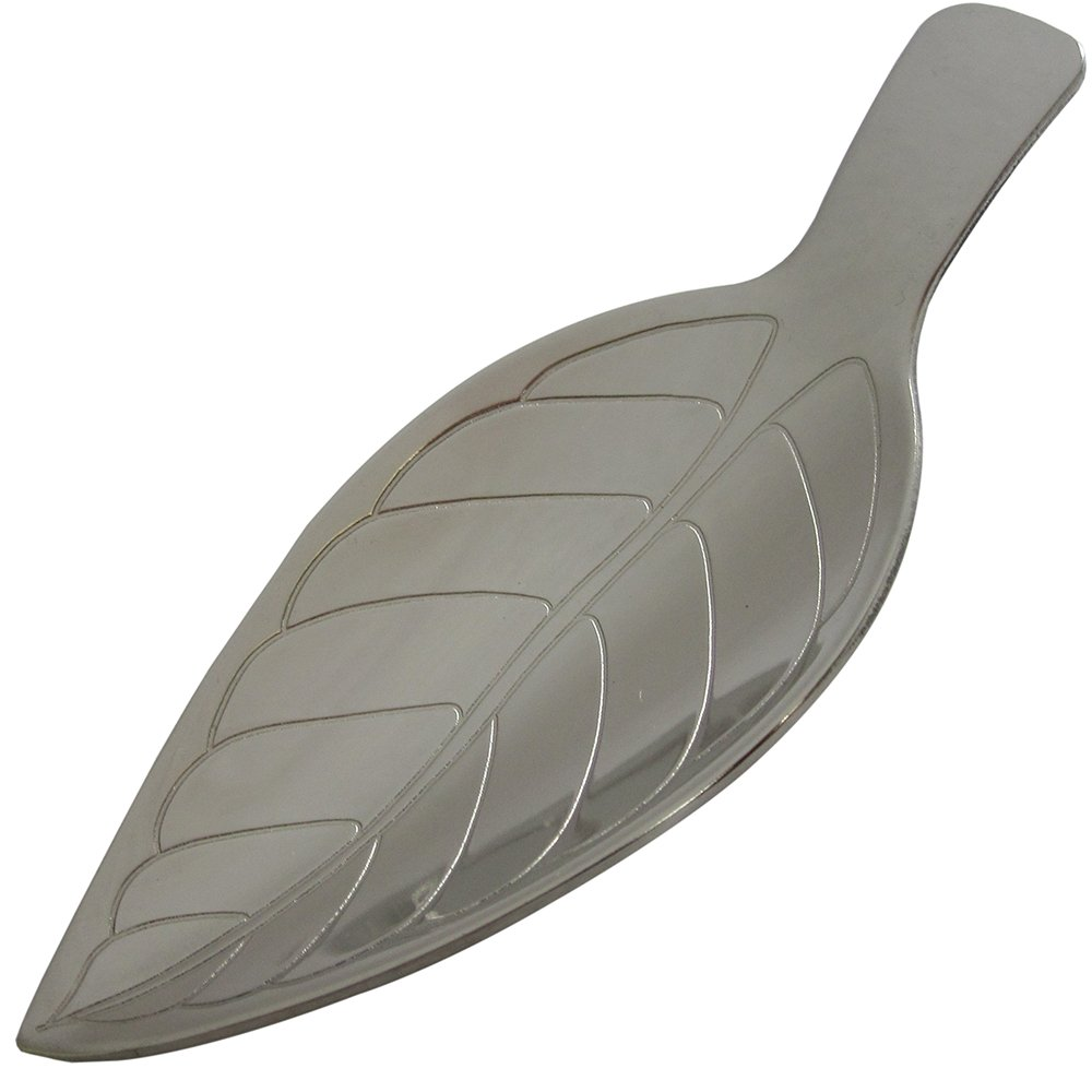 Tomiwoody tea caddy spoon leaf drop by Tomiwoody (Image #1)