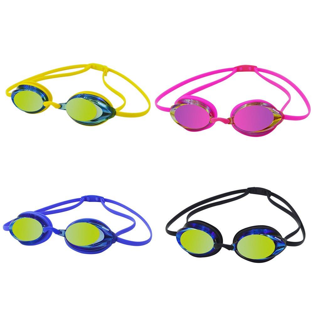 Guoainn Unique Professional Unisex Waterproof Anti-Fogging Goggles Swimming Glasses Accessories
