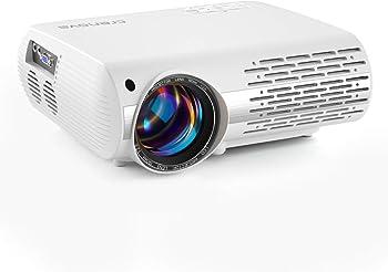 Crenova 6000-Lumens LED Home Theater Projector