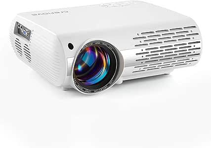 Proyector de Cine en casa de 6000 Lux (550 ANSI) XPE660 soporta 1080P Full HD, conexión con televisores PS4, Xbox, HDMI, VGA, Tarjetas SD, Dispositivos AV y USB, Cine en casa Aktualisierung: