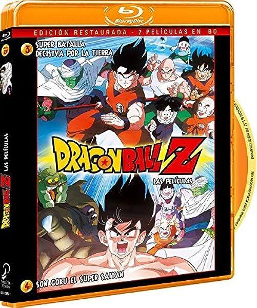 Pack Dragon Ball Z. Película 3: Super Batalla Decisiva Por La Tierra. Película 4: Son Goku El Super Saiyan. Bluray Blu-ray: Amazon.es: Animación, Daisuke Nishio, Animación: Cine y Series TV