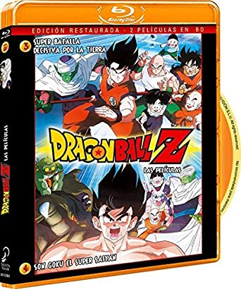Pack Dragon Ball Z. Película 3: Super Batalla Decisiva Por La ...