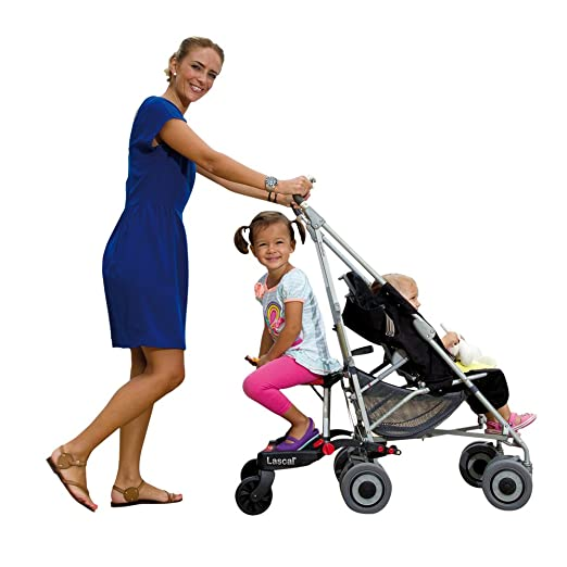 Lascal BuggyBoard Saddle, Accessory Seat That Clamps On To The BuggyBoard Maxi Ride-On Stroller...