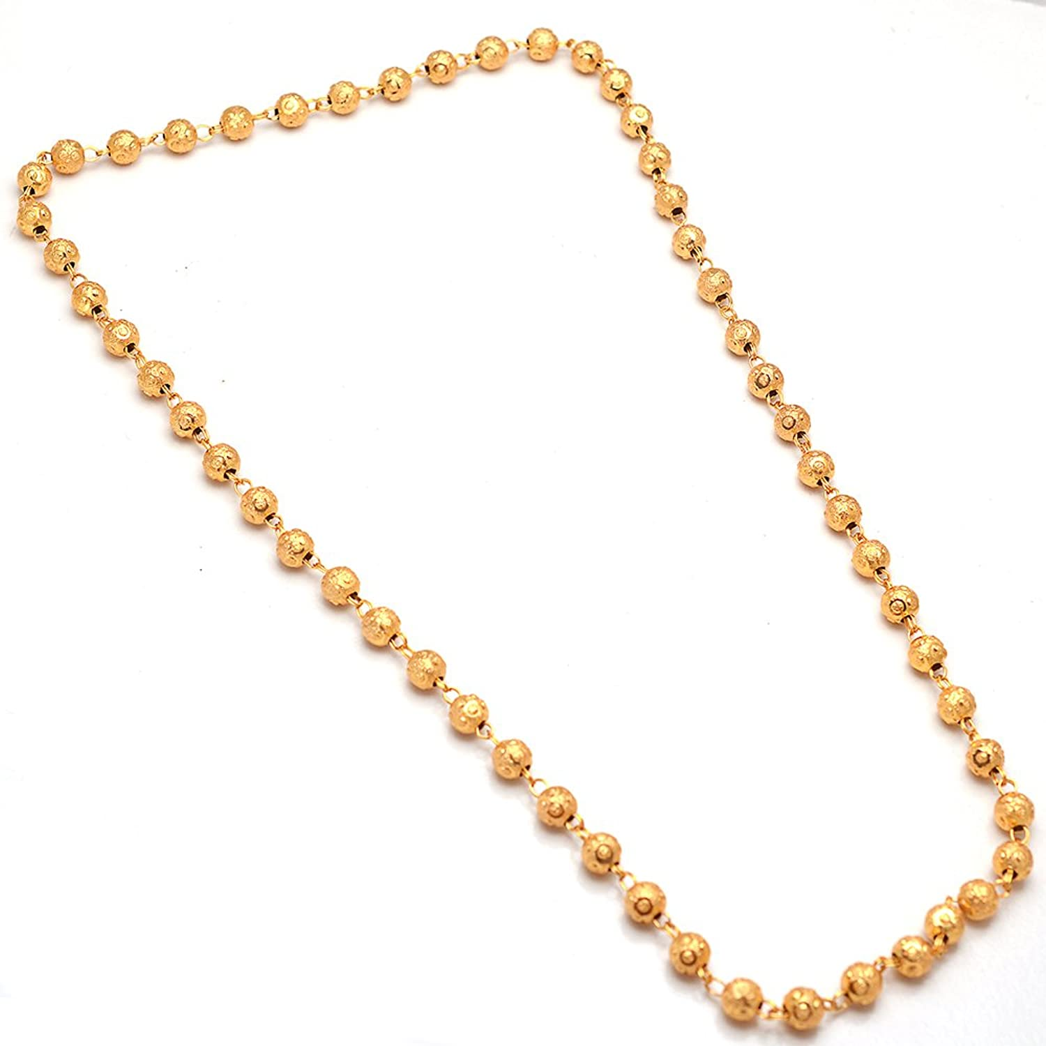 chains yellow gold rosary necklace inch pin ladies