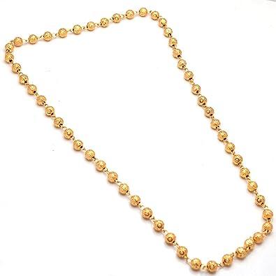Buy jewar mandi white gold plated chain necklace for women online at jewar mandi white gold plated chain necklace for women aloadofball Images