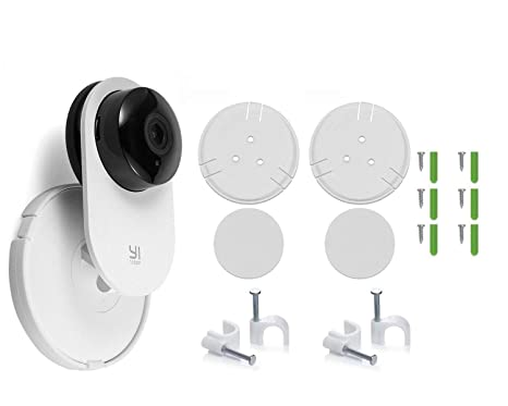 fstop labs Camera Wall Mount Stand Bracket with 360 degree Swivel for Yi Home Security Camera Security Cameras at amazon