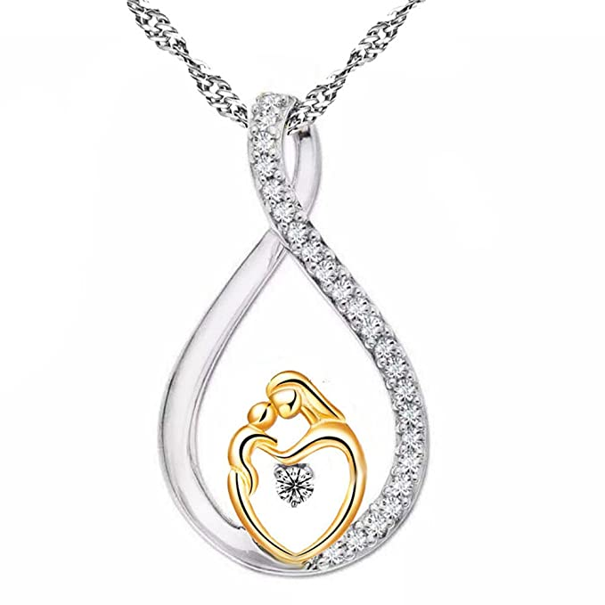 Luxury Necklace Silver Plated.