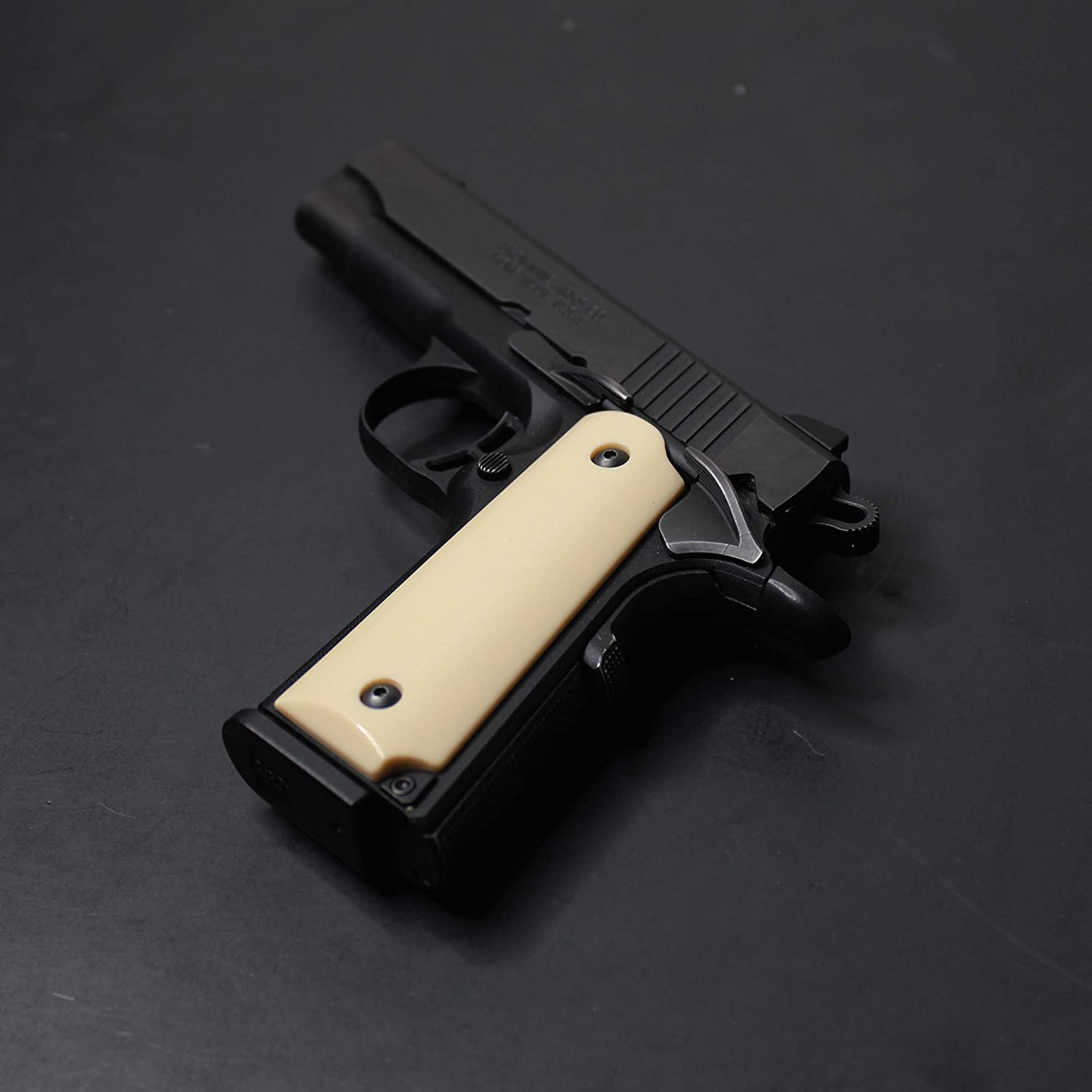 Browning 1911-22 SMOOTH Details about  /DURAGRIPS 380 1911a1 Black Label Polished Grips