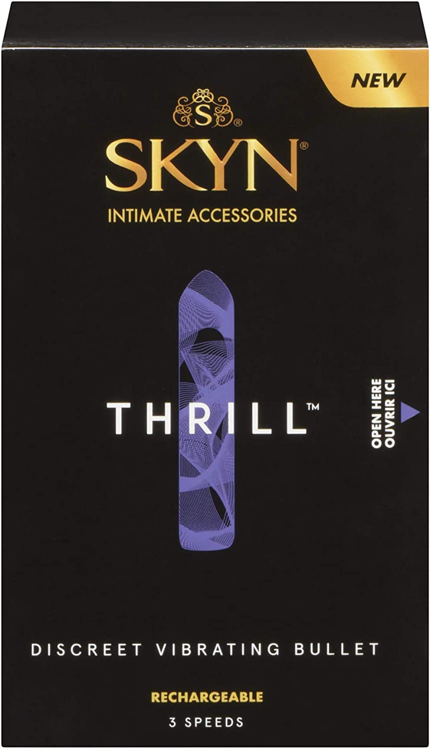 The Lifestyles Skyn Thrill Massager travel product recommended by Emma Stoneham on Pretty Progressive.