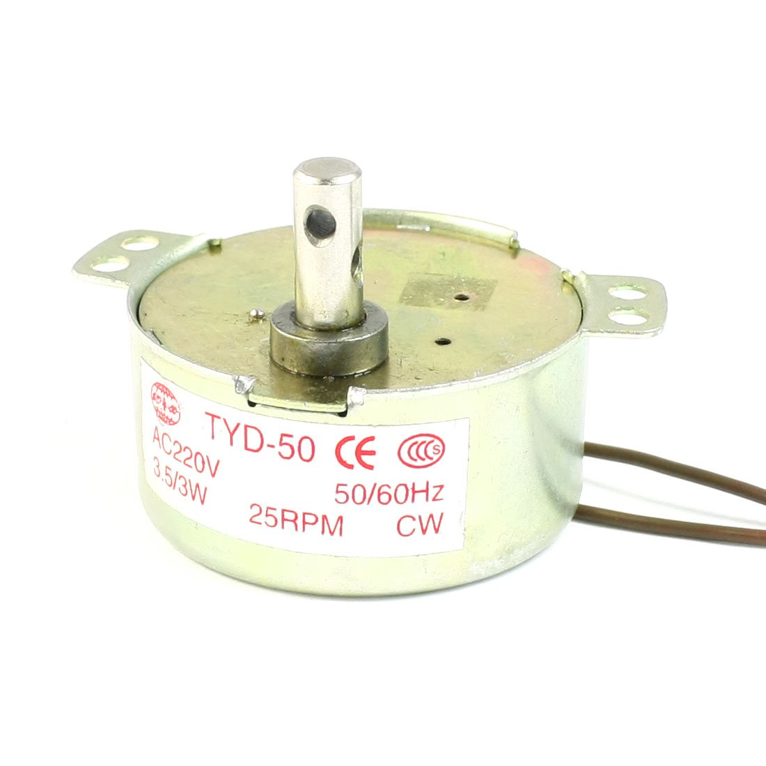 25rpm 220 V AC 3, 5/3 W 2 Draht Terminals Zylindrische Micro Motor Sourcingmap a13062100ux0156