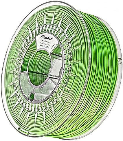 PLA-Filament dunkelgruen für 3D-Drucker Europa 2,85mm Minadax® 1kg Premium 3mm