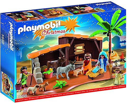 PLAYMOBIL Nativity Stable with Manger by Playmobil