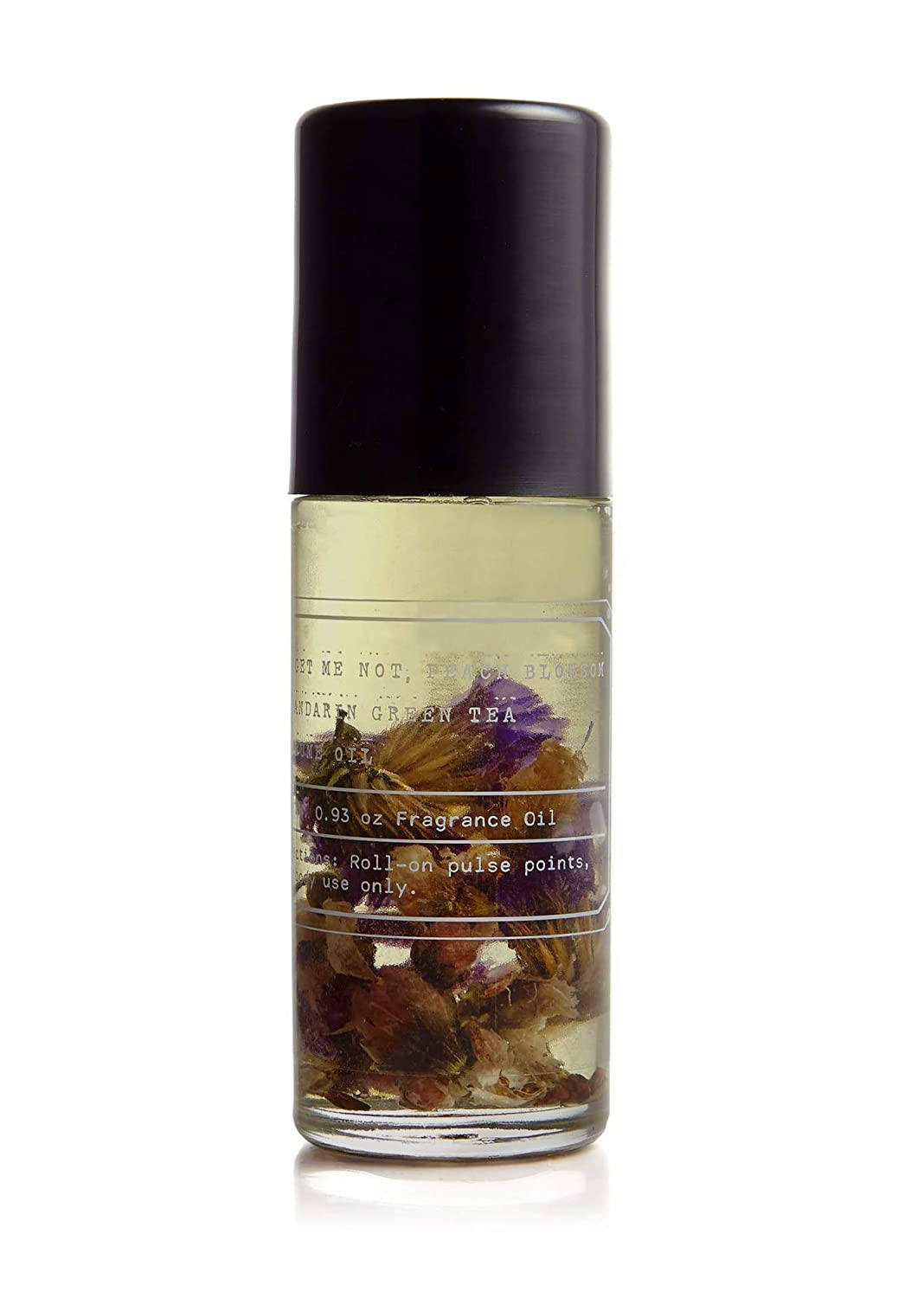 The Petal Collection No.2 FORGET ME NOT Fragrance Oil Rollarball - Tru Fragrance - Multi Use Fragrance Oil With Peach Blossom and Mandarin Green Tea - 1 oz 30 ml